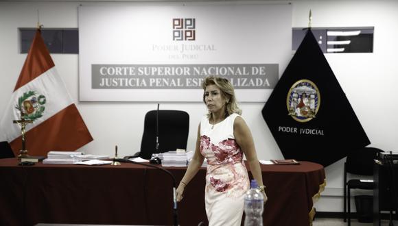La fiscal Sandra Castro indicó que existen pruebas contundentes en el caso relacionado a José Luna Gálvez. (Foto: GEC)