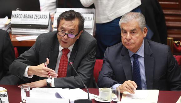 El primer ministro César Villanueva sustentó el pedido de facultades legislativas para emitir normas en cinco materias en un plazo de 60 días. (Foto: Lino Chipana)