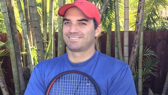 Rodolfo Rake fue un top ten en el ránking mundial juvenil en el año 1997. (Foto: Archivo Familiar).