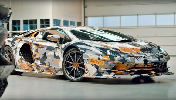 El Lamborghini Aventador SVJ buscará convertirse en el vehículo de producción más veloz de Nürburgring. (Foto: YouTube).