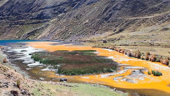 Áncash: fiscalía investiga presunta contaminación en laguna Pelagatos