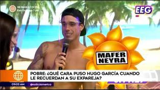 Así reaccionó Hugo García al recordar a su expareja, Mafer Neyra