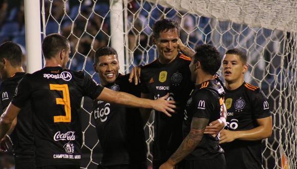 Olimpia venció 3-2 en su visita a Libertad por la fecha 7 de la Liga de Paraguay. | Foto: Olimpia