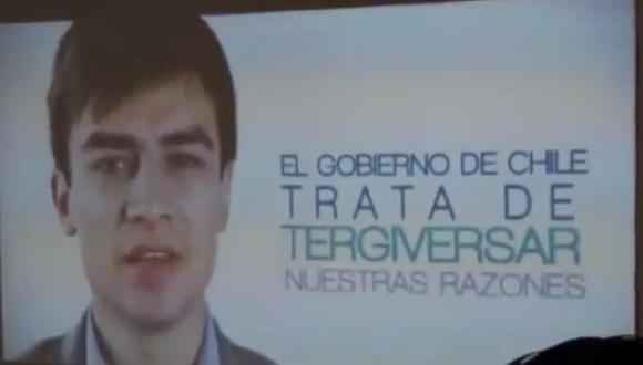 Bolivia presentó video sobre su demanda marítima a Chile