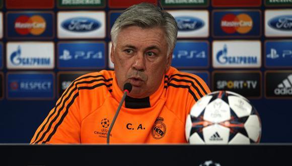 Carlo Ancelotti: Cristiano será titular; Pepe y Benzema en duda
