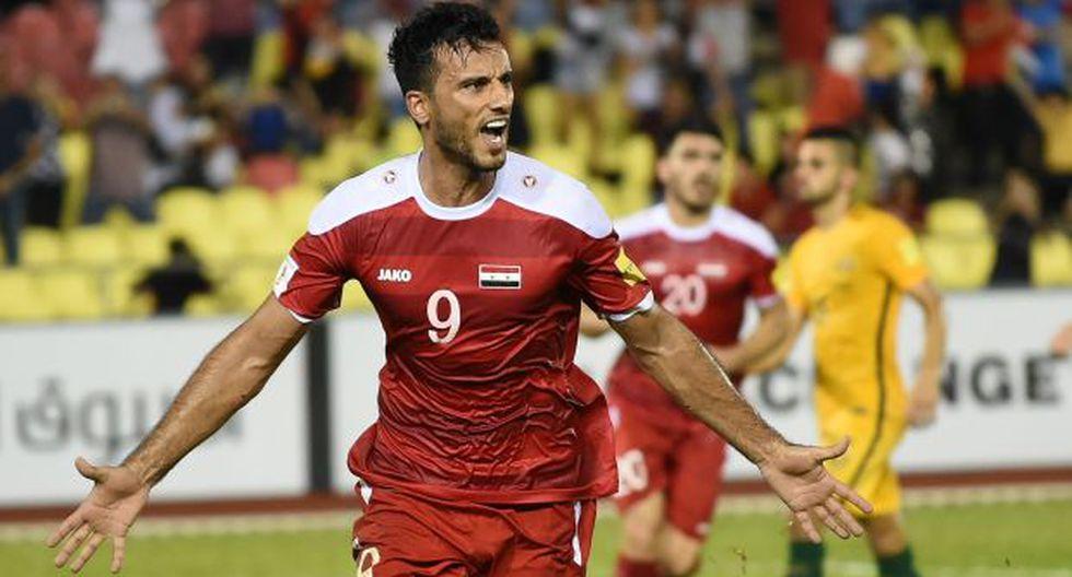 Siria sueña con llegar a la repesca contra un representante de la Concacaf. (Foto: AFP)