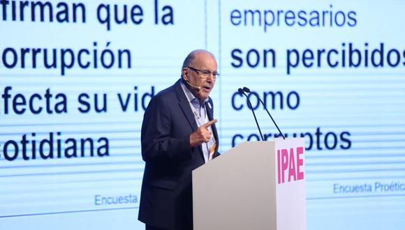 Oscar Espinosa, presidente de Ferreycorp
