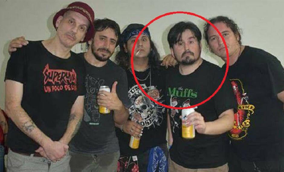 Daniel Koscianiewicz, Martin Lalo, Tommy Gunn, Juan Ledesma y Colorado Bisbal, miembros de la banda.  (Foto: Facebook)