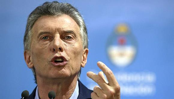 El gobiermo del presidente Mauricio Macri solicitó un crédito de US$50,000 millones al FMI para evitar la crisis financiera. (Foto: AFP)