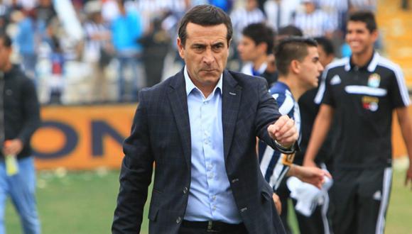 """Sanguinetti, técnico de Alianza Lima: """"Que se acabe esto ya"""""""