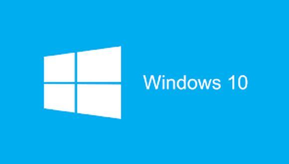 Windows 10. (Imagen: Microsoft)
