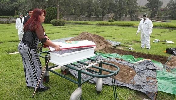 Exhuman restos del último héroe peruano que murió en el Cenepa