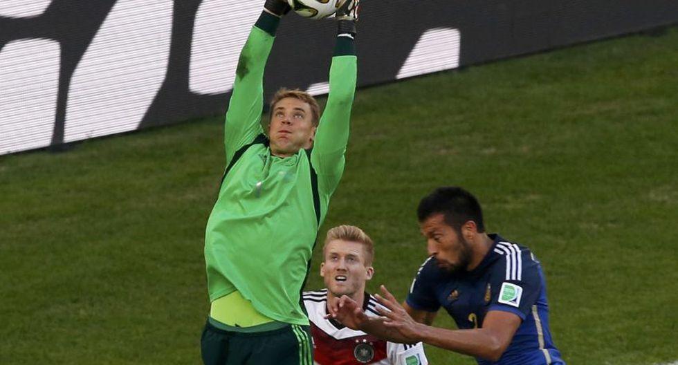Alemania vs. Argentina: las atajadas más espectaculares - 15