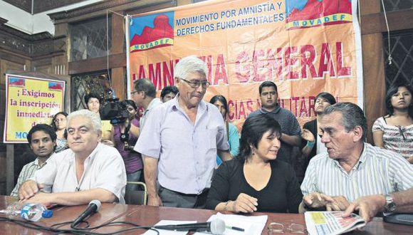 Dircote: Movadef tiene 2.500 integrantes en todo el Perú