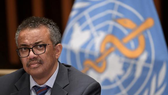 Director general de la OMS, Tedros Adhanom Ghebreyesus. (Foto: Reuters)