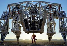 Prosthesis: este es el impresionante exoesqueleto de 4.000 kilos que puede destrozar un auto | VIDEO