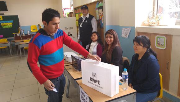 Las elecciones legislativas se realizarán el domingo 26 de enero del 2020. (Foto: ONPE)