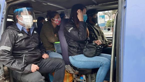 La Libertad: algunos transportistas culparon a los pasajeros de subir a la fuerza a las unidades. (Foto: Municipalidad Provincial de Trujillo)