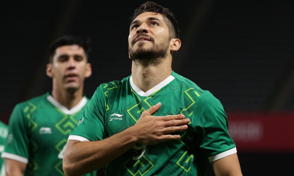 México goleó a Sudáfrica y selló su clasificación a la siguiente ronda de los Juegos Olímpicos | Foto: AFP