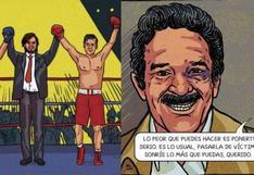 Puñete que acabó la amistad de Vargas Llosa y Gabriel García Márquez es ahora un cómic