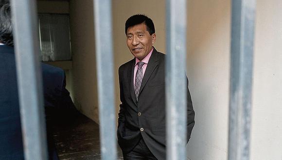 El 8 de diciembre, el pleno del Congreso suspendió a Mamani por 120 días sin goce de haber por la denuncia de tocamientos indebidos.(Foto: César Campos)