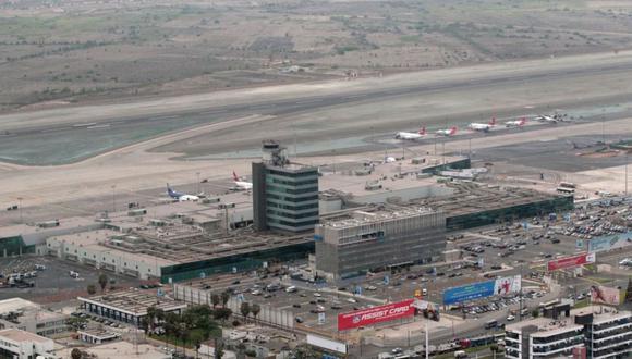 La inversión en el proyecto de ampliación del aeropuerto internacional Jorge Chávez en Lima, considerado entre los que retomarán trabajos, asciende a S/5.250 millones. (Agencia Andina)