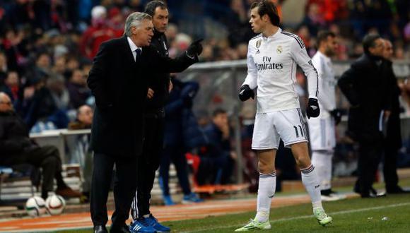 Carlo Ancelotti ve difícil remontada ante Atlético de Madrid