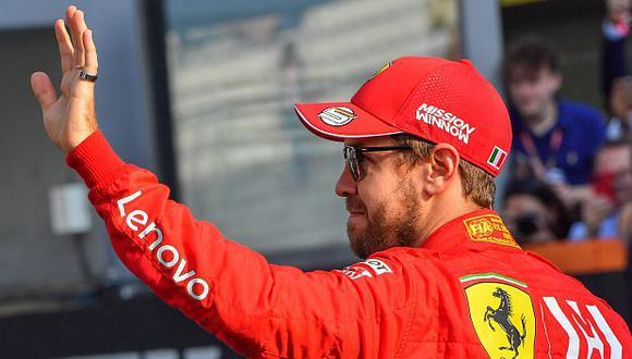 Sebastian Vettel ha sido campeón de la Fórmula 1 entre el 2010 y 2013. (Foto: AFP)