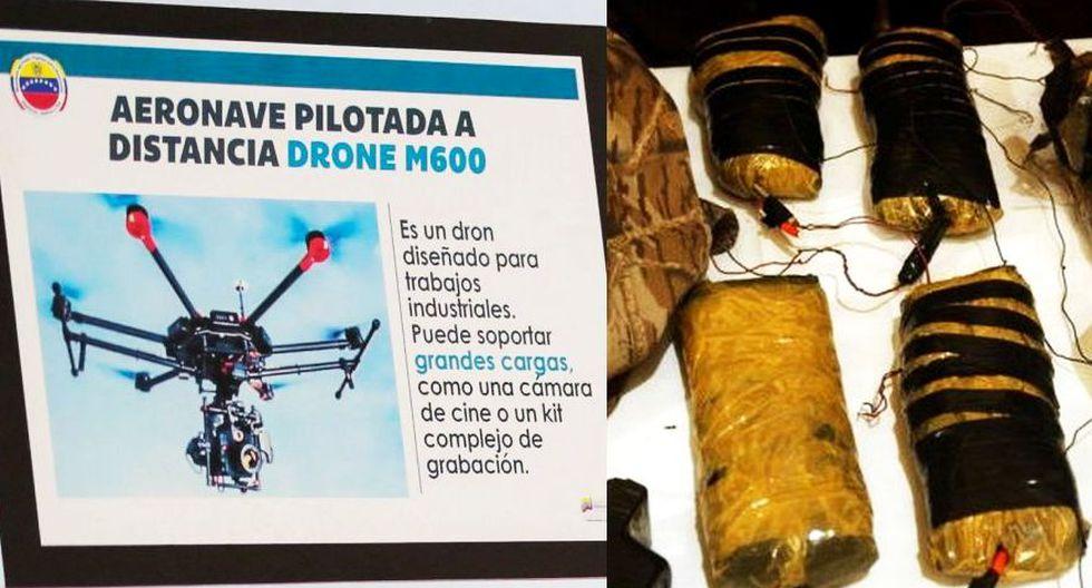 Qué es el C4, el explosivo usado en el atentado contra Nicolás Maduro. (Foto: AFP)