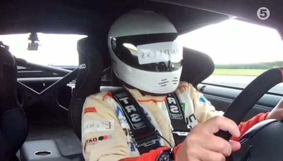 VIDEO: Piloto ciego alcanza los 322 km/h