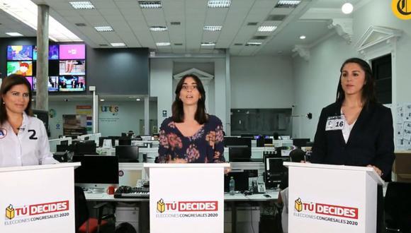 Cyntia Serra (Contigo) y Carmen Omonte (Alianza para el Progreso), candidatas en las elecciones congresales del 26 de enero, debaten desde las 10:00 a.m. en la sede de El Comercio.