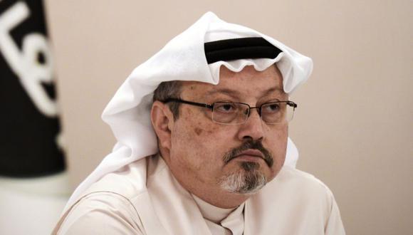 En esta foto de archivo tomada el 15 de diciembre de 2014, el periodista Jamal Khashoggi durante una conferencia de prensa en la capital de Bahrein, Manama. (Foto: AFP / MOHAMMED AL-SHAIKH).