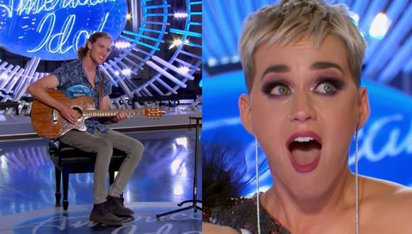 """Katy Perry se conmueve hasta las lágrimas con participante de """"American Idol"""""""