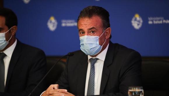 El ministro de Salud Pública de Uruguay, Daniel Salinas. (EFE/Federico Anfitti).