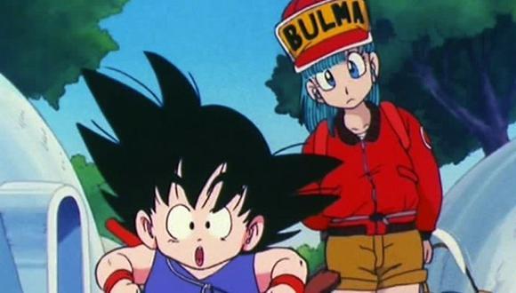 """Gokú y Bulma en """"Dragon Ball"""". (Foto: Toei Animation)"""