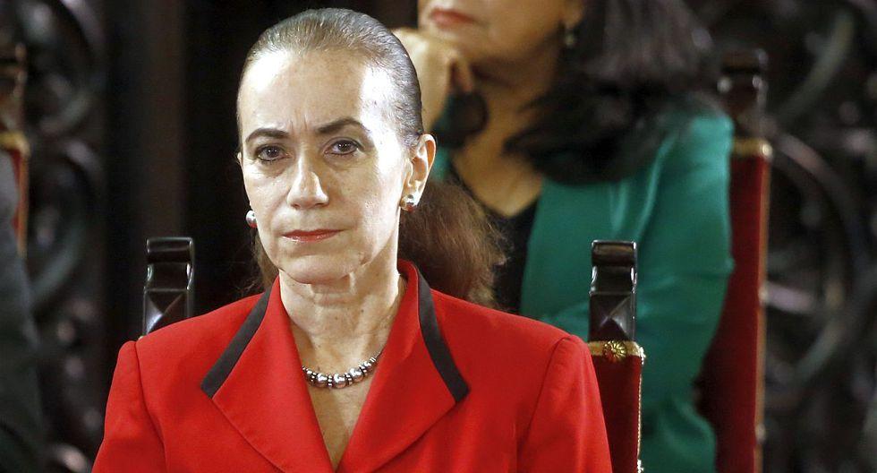 Ana Teresa Revilla estuvo al frente del Ministerio de Justicia y DD.HH. por cuatro meses y diez días. (Foto: GEC)