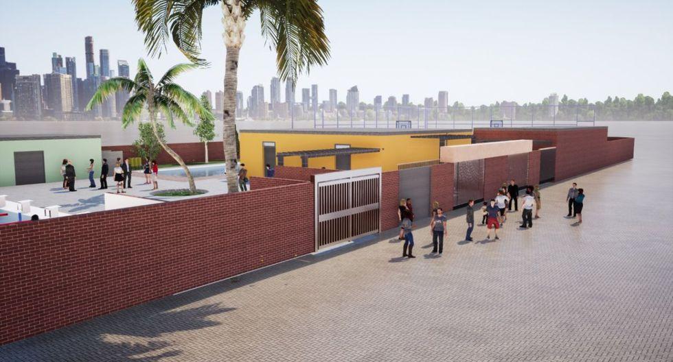 Así se vería el complejo deportivo tras culminarse las obras de remodelación. (Foto: Difusión)