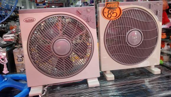 Los ventiladores resultan ser más baratos que una unidad de aire acondicionado y de casi cero costos en mantenimiento. (Foto: GEC)