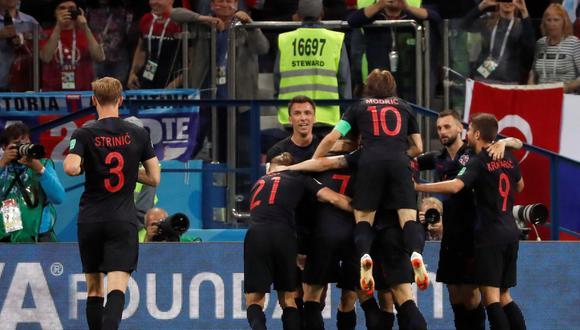 Las selecciones de Croacia y Dinamarca disputarán un parejo duelo para definir a uno de los clasificados a cuartos de final en el Mundial Rusia 2018. (Foto: EFE)