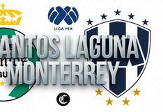 Santos Laguna vs. Monterrey en vivo: horarios y canales del partido por Liga MX