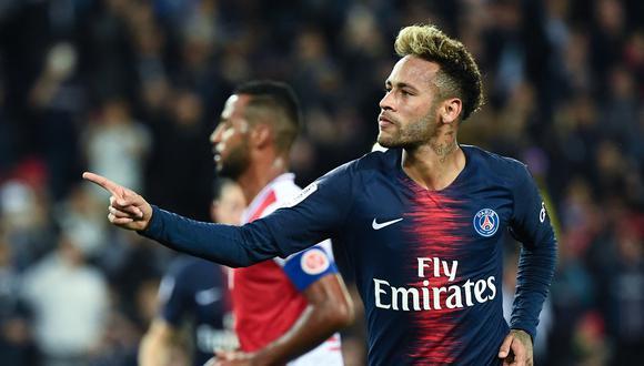 Neymar tiene contrato en el PSG, pero en España los rumores indican que podría irse de París. Esto dijo el brasileño. (Foto: AFP)