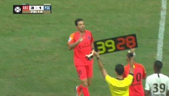 El nuevo golero del París Saint Germain, Gianluigi Buffon, tuvo un partido para el olvido ante Arsenal por la International Champions Cup. El video es viral en YouTube. (Foto: captura)