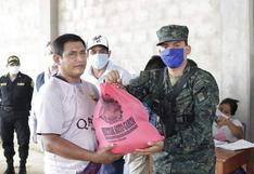 Fiscalía investigará a alcalde de Ucayali por entregar víveres en bolsas que llevaban su nombre