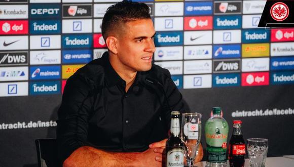 Antes de llegar a la Bundesliga, Rafael jugó en River Plate, Villarreal y Deportivo Cali. (Foto: Eintracht Frankfurt)