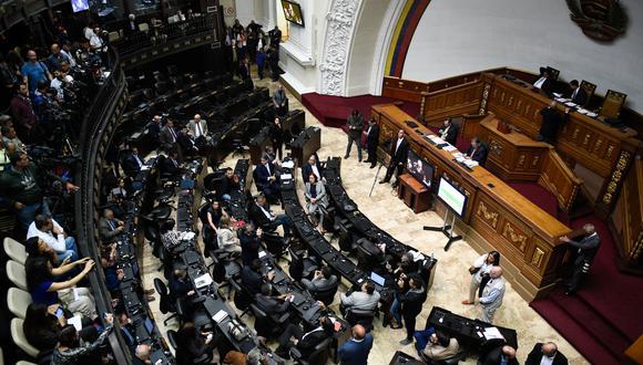 Venezuela: Parlamento asume competencias del Ejecutivo y nombra embajador ante la OEA. Foto: AFP
