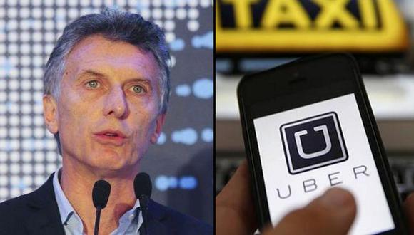 "Macri en contra de Uber: ""Taxistas son símbolo de Argentina"""