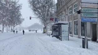 La nevada caída en la ciudad de Madrid es la mayor desde 1971