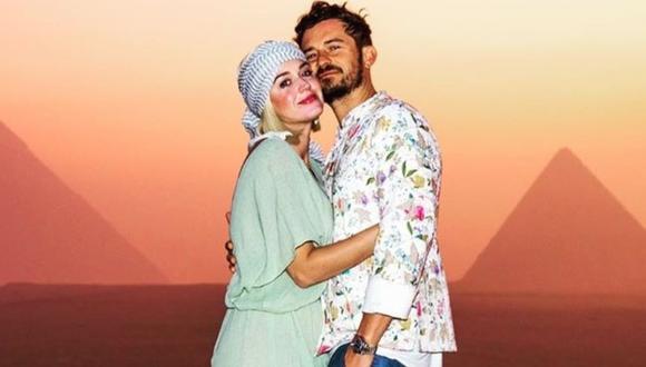 Katy Perry se encuentra en la dulce espera. (Foto: @orlandobloom)