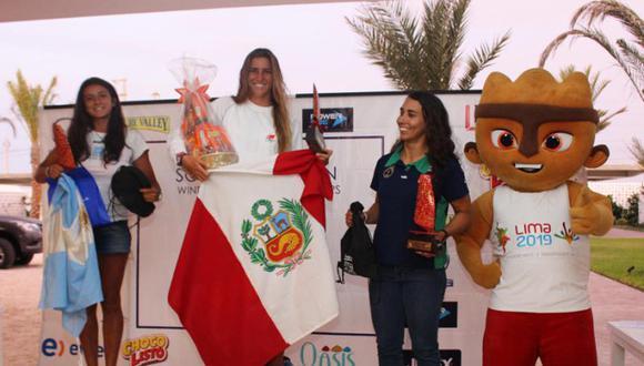 En Paracas, María Belén venció en 14 de las 15 regatas disputadas. (Foto: Twitter)