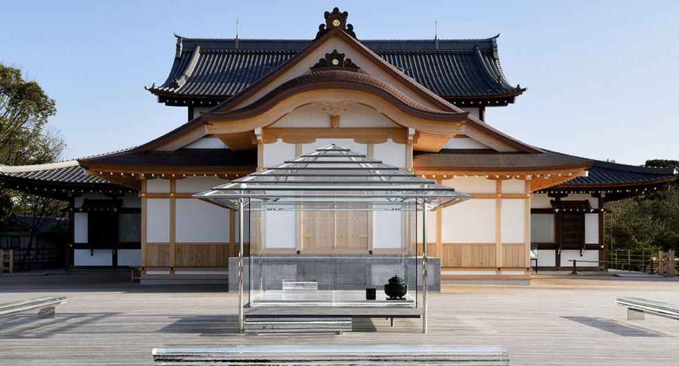 Las casas de té son construcciones tradicionales en Japón. Sin embargo el diseñador Tokujin Yoshioka decidió darles un giro y modernizarlas con su instalación en Kyoto. (Foto: Yasutake Kondo / tokujin.com)